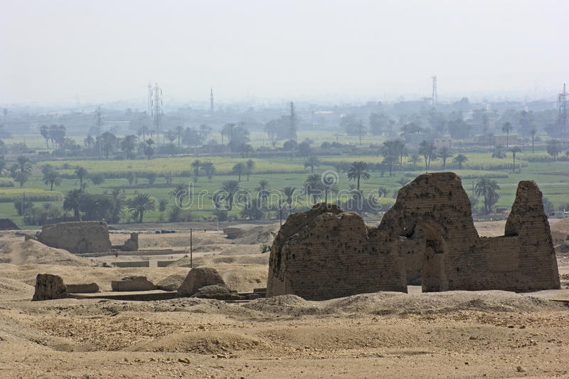 zachodni Egypt thebes obraz stock