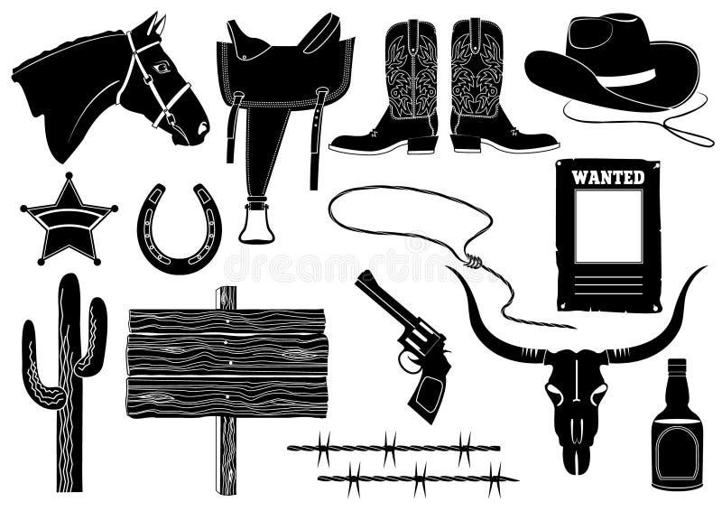 zachodni elementu kowbojski życie