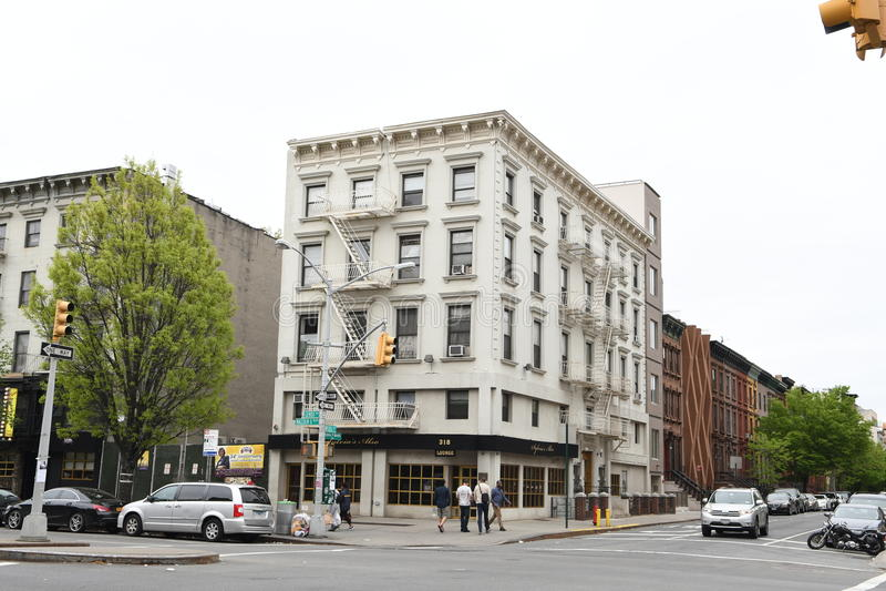 Zachodni Harlem, Miasto Nowy Jork zdjęcia royalty free