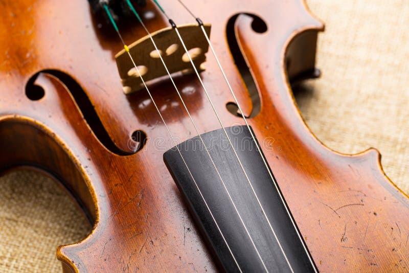 Zachodni instrument muzyczny, skrzypce zdjęcie stock