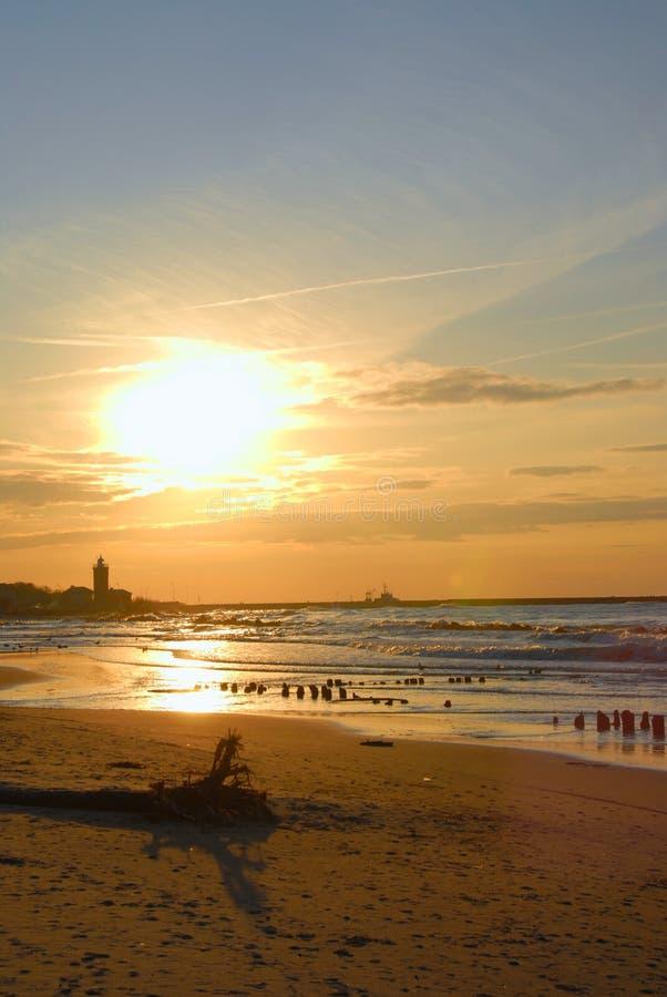 zachodni jesienni słońca obrazy royalty free