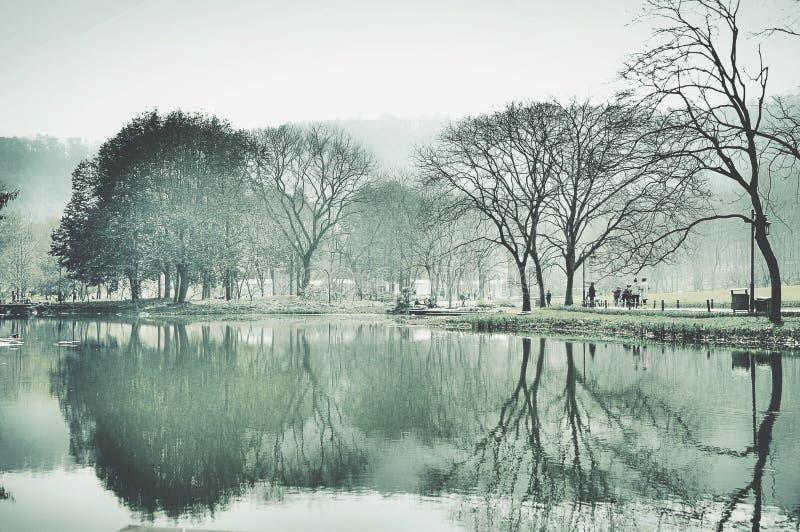 Zachodni jezioro zdjęcia royalty free