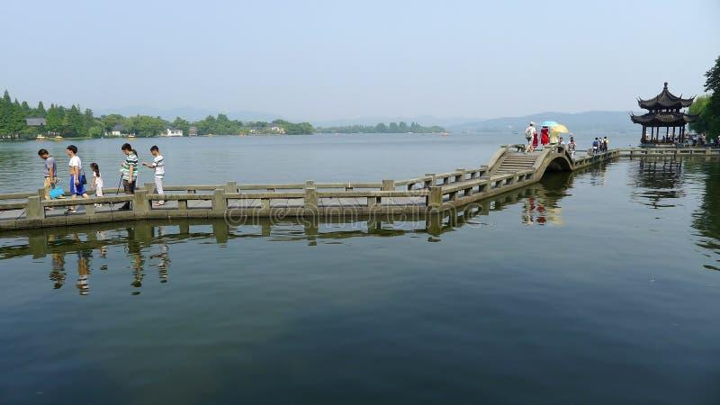 Zachodni jezioro fotografia stock