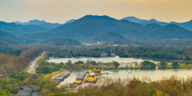 Zachodni jezioro, Hangzhou, Chiny obraz stock