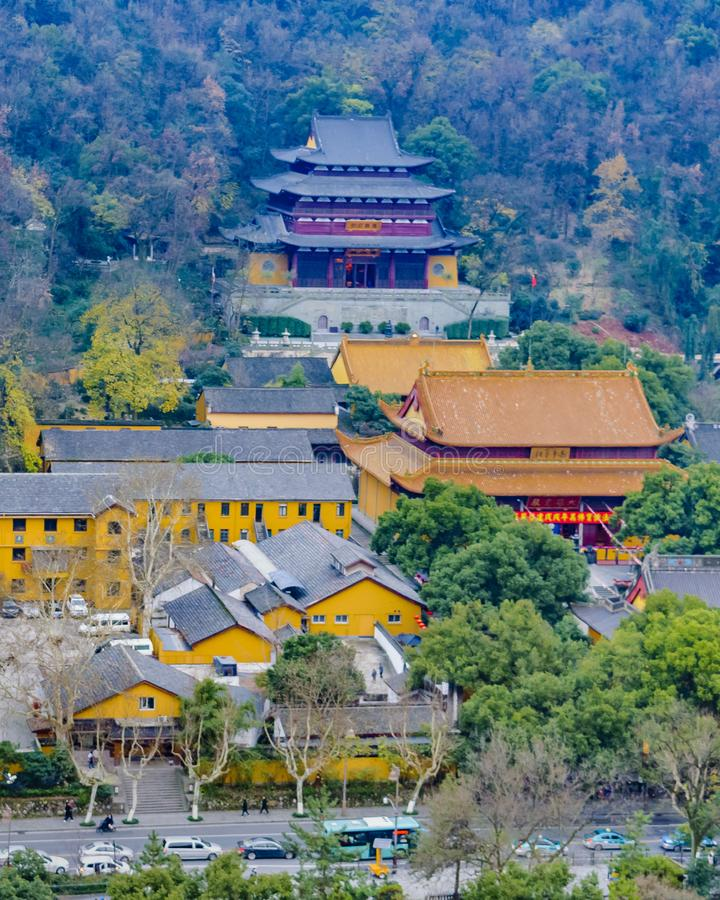 Zachodni jezioro park, Hangzhou, Chiny obraz royalty free