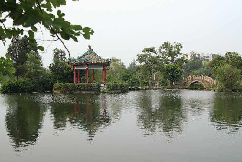 zachodni jieyang jezioro zdjęcia royalty free