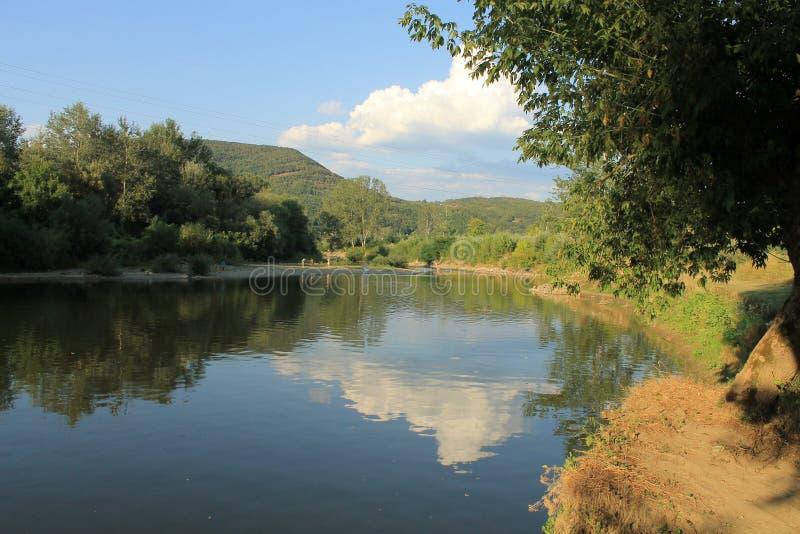 Zachodni Morava, Kraljevo, Serbia obraz royalty free
