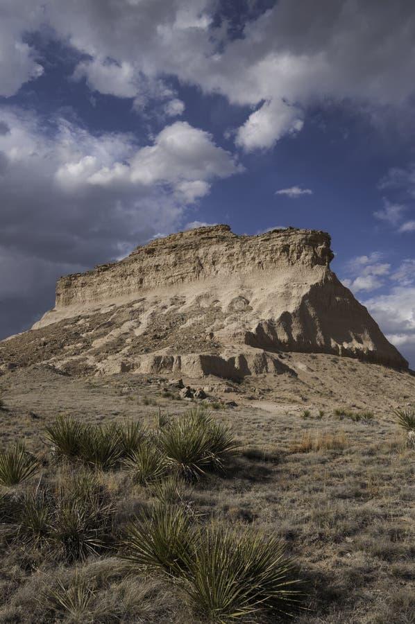Zachodni Pawnee Butte zdjęcie royalty free