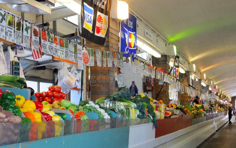 zachodni produkty spożywcze targowa strona obrazy stock