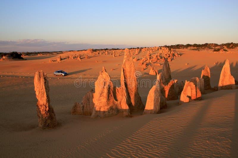 zachodni pustynni Australia pinakle obraz stock