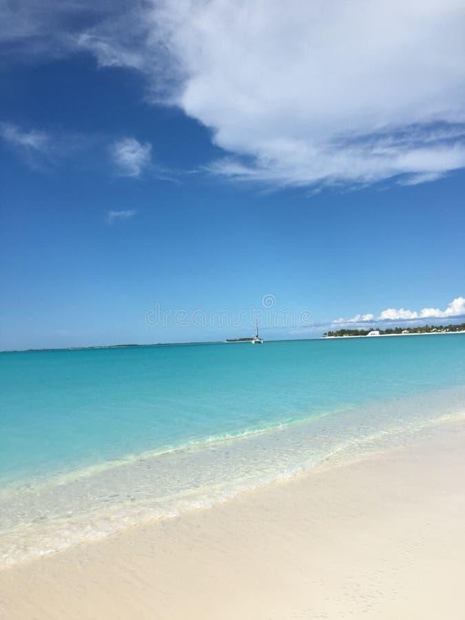 Zachodnia palmy plaża, Floryda, usa obraz royalty free