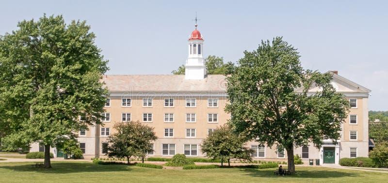 Zachodnia szkoły wyższa dormitorium zjednoczenia szkoła wyższa zdjęcie royalty free