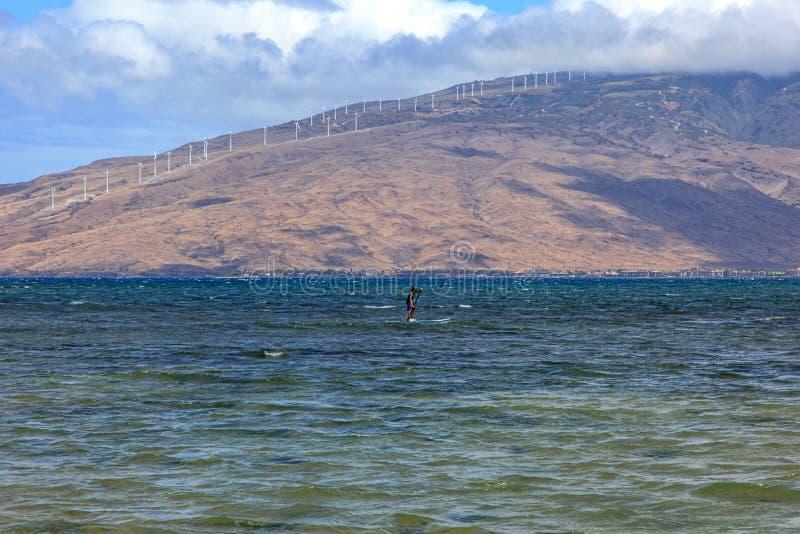 Zachodnie Maui góry obrazy royalty free