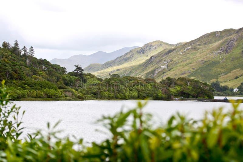 Zachodnie wybrzeże Irlandia, Pollacapall jezioro fotografia royalty free