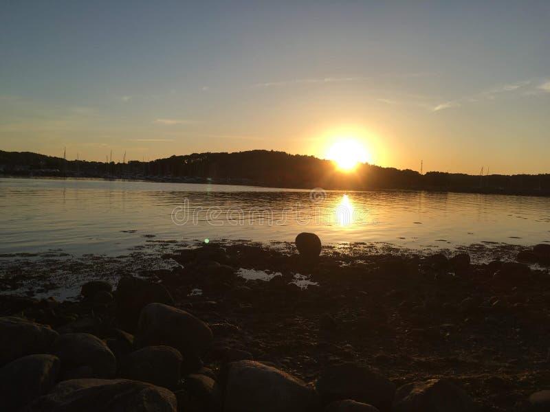 Zachodnie wybrzeże szwecji fotografia royalty free