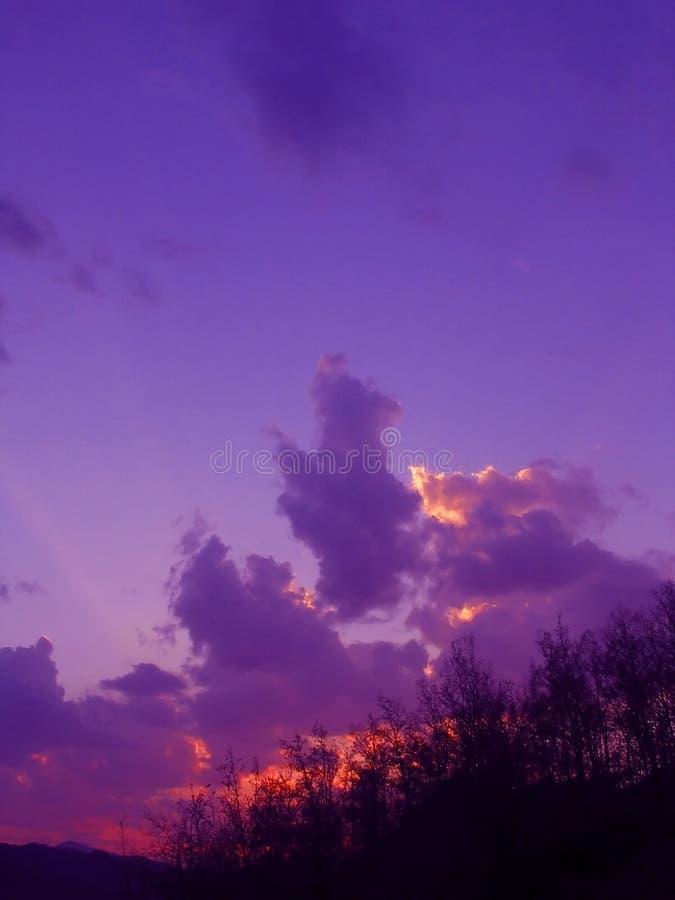 zachody słońca zdjęcia stock
