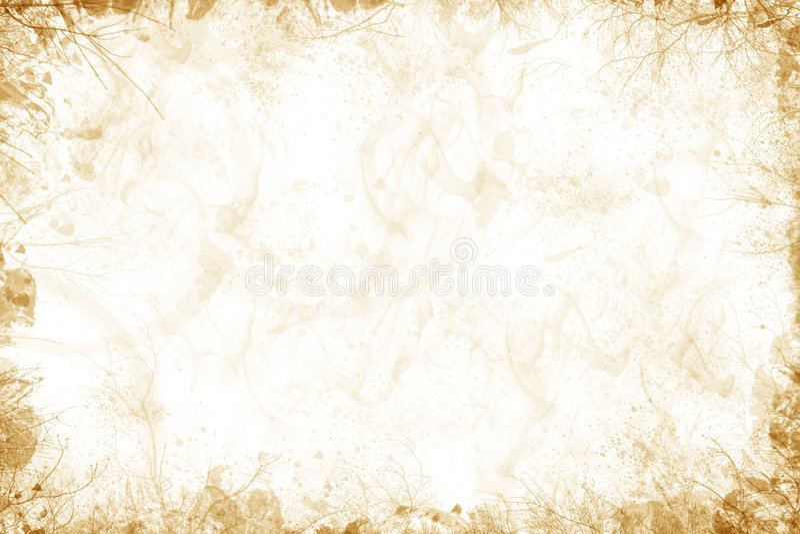 Zacht aardachtig frame royalty-vrije stock foto