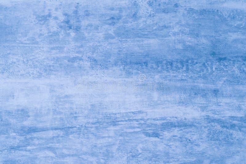 Zacht blauw kleurenmodel Abstracte blauwe achtergrond met verfvlekken Vlekken op canvas, achtergrond Illustratie Patroon van wate royalty-vrije stock afbeeldingen