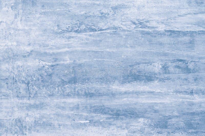 Zacht blauw patroon op canvas Pastelkleurachtergrond van waterverfmodel Malplaatje met gradiënt van lichtblauwe textuur Verfvlekk stock fotografie