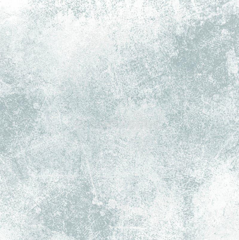 Zacht blauw patroon Zwart-wit Zachte Vage Inktoppervlakte vector illustratie