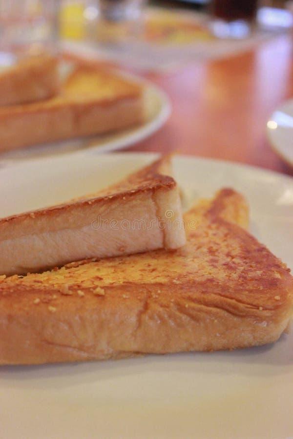 Zacht brood in de ochtend royalty-vrije stock afbeeldingen