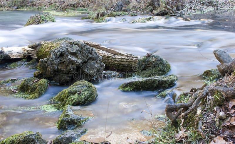 Zacht Water Royalty-vrije Stock Afbeeldingen