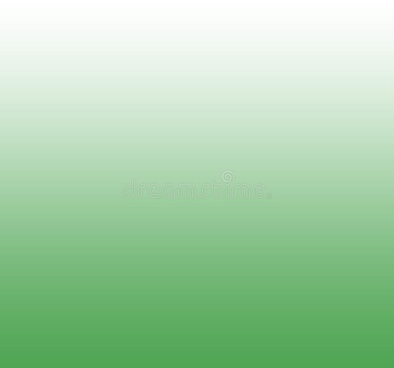 Zachte en vlotte achtergrond van de gradiënt de groene kleur vector illustratie