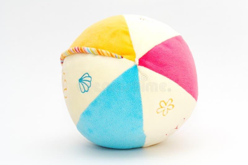 Zachte gekleurde bal stock afbeelding
