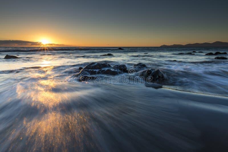 Zachte golven stock afbeeldingen