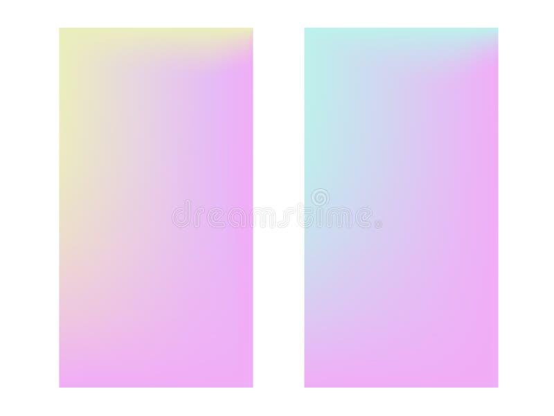 Zachte kleurenachtergrond In gradiënt vector illustratie
