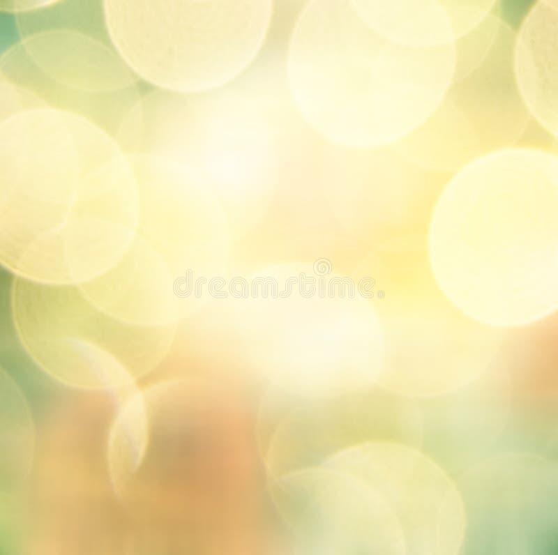 Zachte kleurrijke bokehachtergrond stock foto
