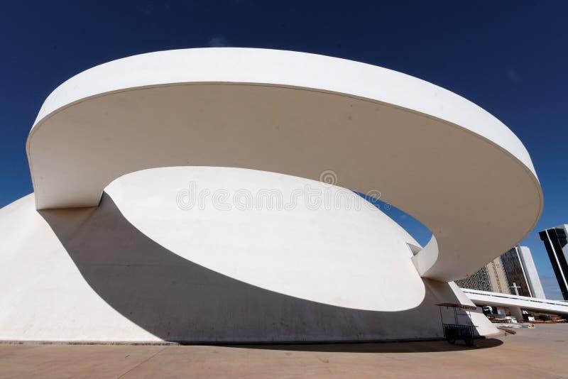 Zachte Kromme in Brasilia stock afbeelding