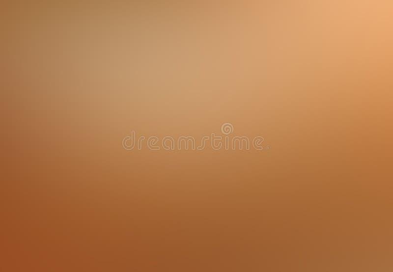 Zachte perzikachtergrond Oranje gradiënt vage pastelkleur stock foto's