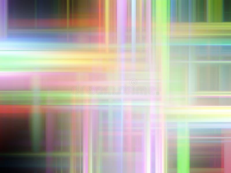 Zachte roze geelgroene purpere lichten, abstracte achtergrond, grafiek, abstracte achtergrond en textuur vector illustratie