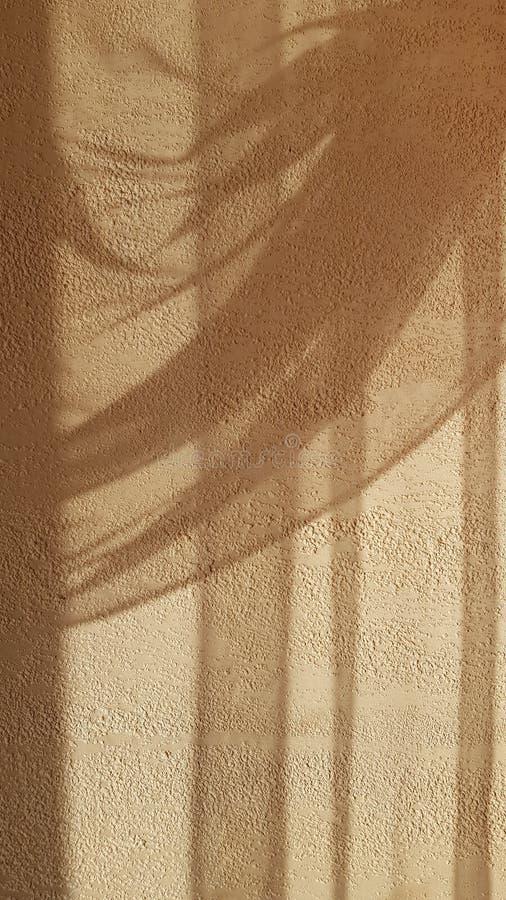 Zachte schaduwen van het elegante gedrapeerde gordijn van Tulle stock afbeelding