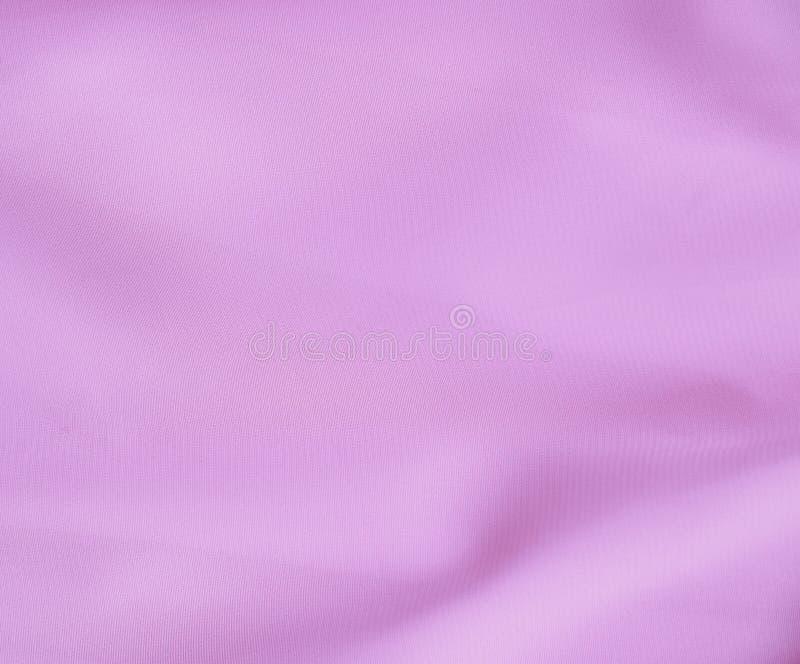 Zachte stoffentextuur, purpere pastelkleurtoon stock foto