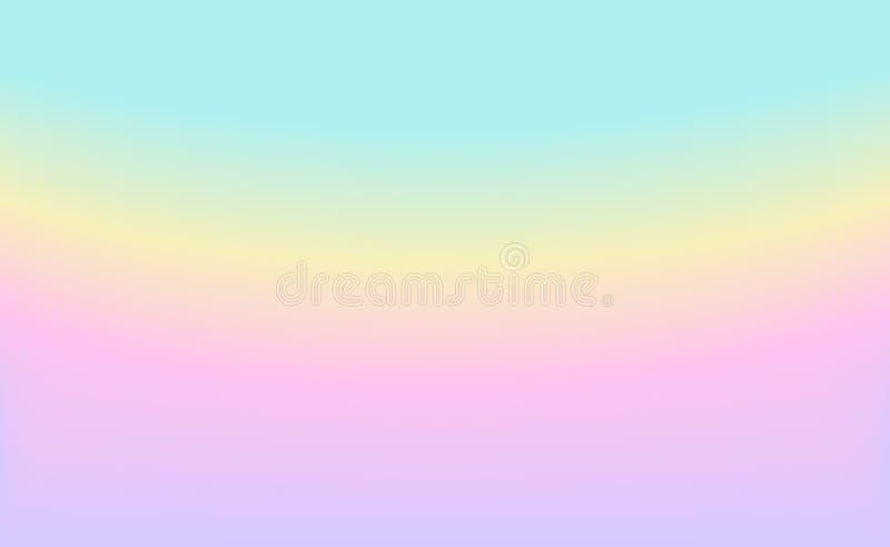 Zachte Vage achtergrond in de lentepastelkleuren stock illustratie