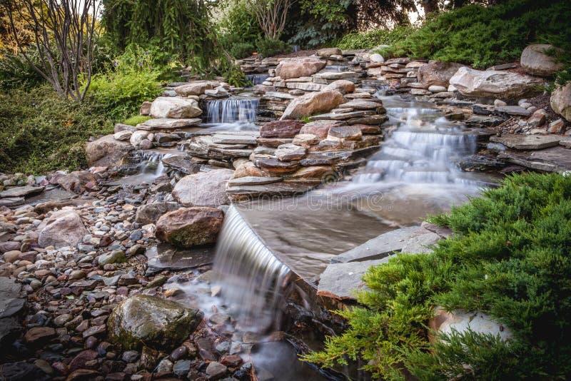 Zachte waterval stock foto