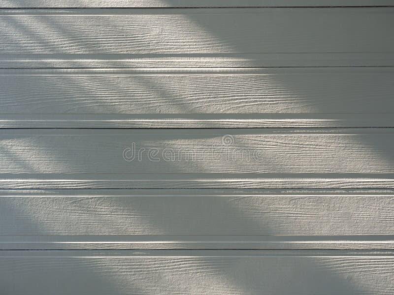 Zachte witte, lege houten ondergrond stock afbeelding