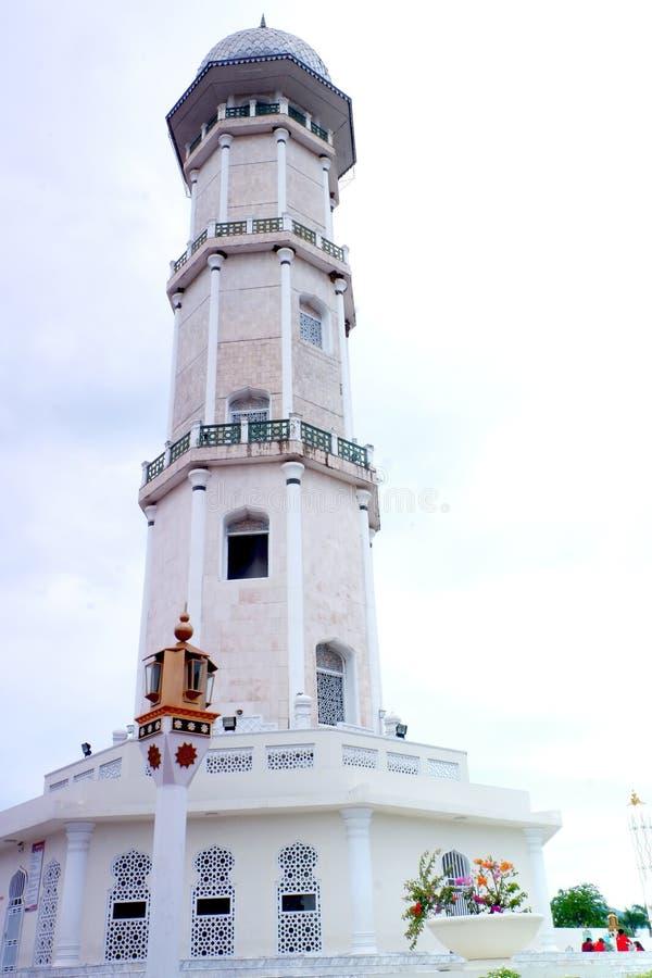 Zachwyt Aceh turystyka, Baiturrahman Uroczysty meczet zdjęcie stock