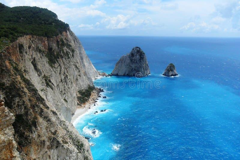 Zacinto, Grecia immagini stock