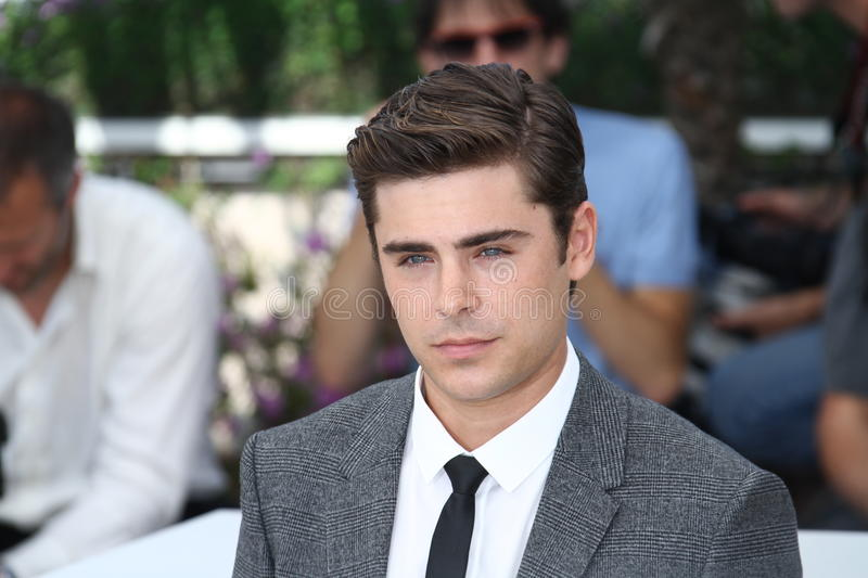 Zack Efron photo stock