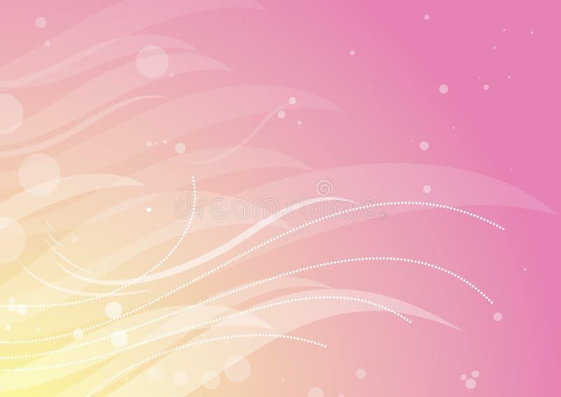 Zacken Sie Blumenhintergrund, vecto aus vektor abbildung