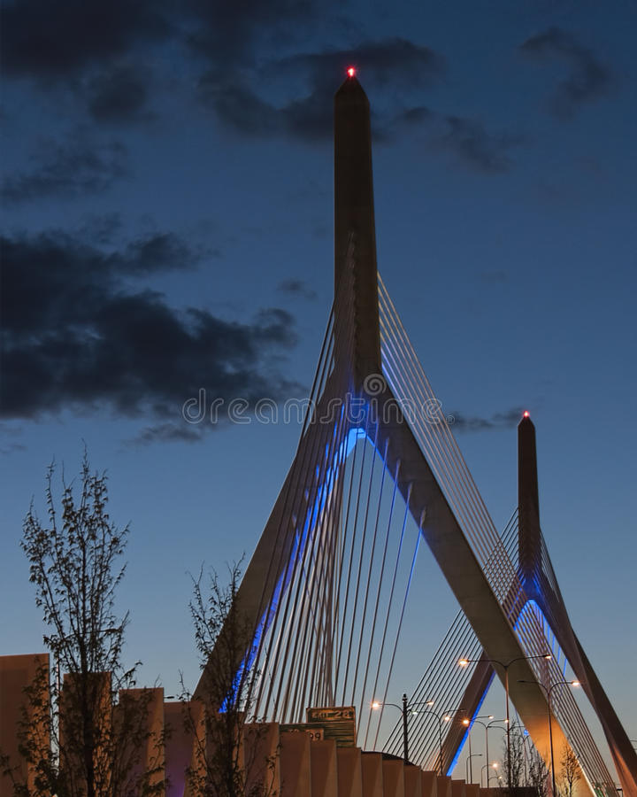 Zacum bridge stock image