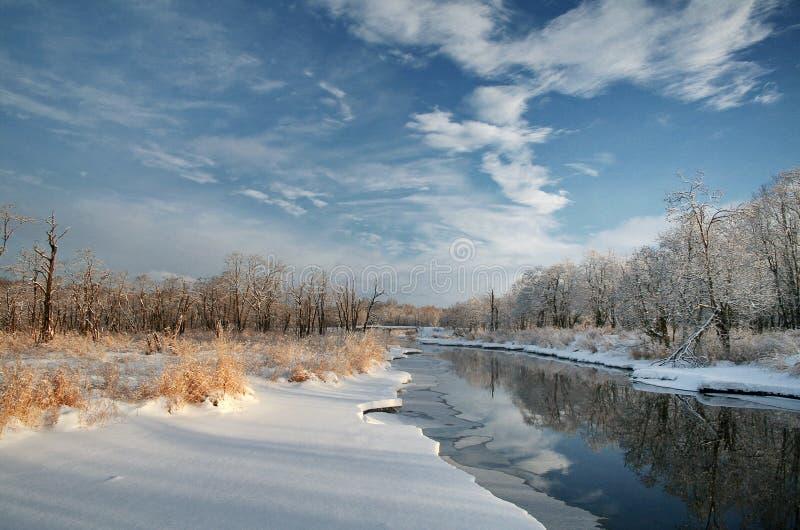 Zaczynać zimy historia zdjęcia stock
