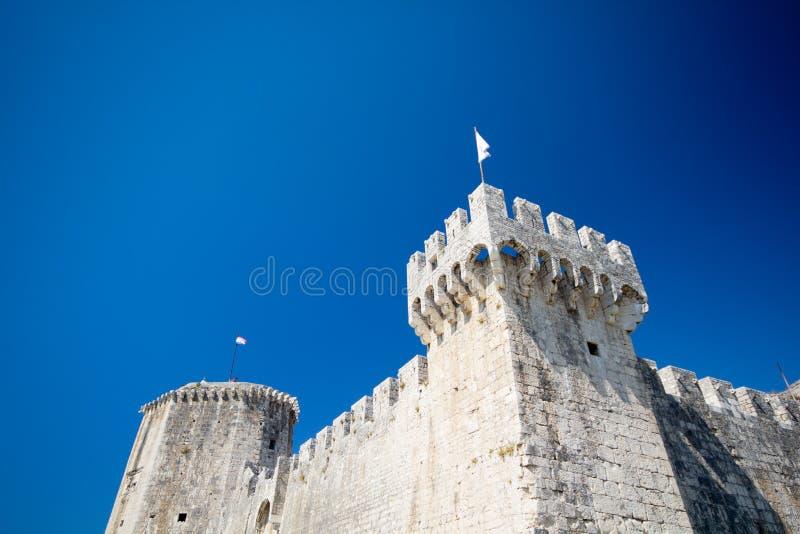 Zadar的堡垒 库存照片