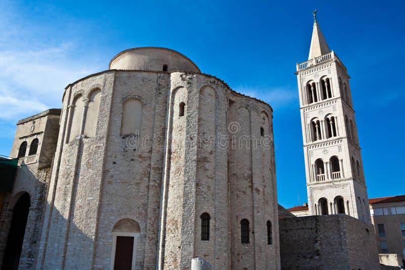 Zadar royalty-vrije stock afbeelding