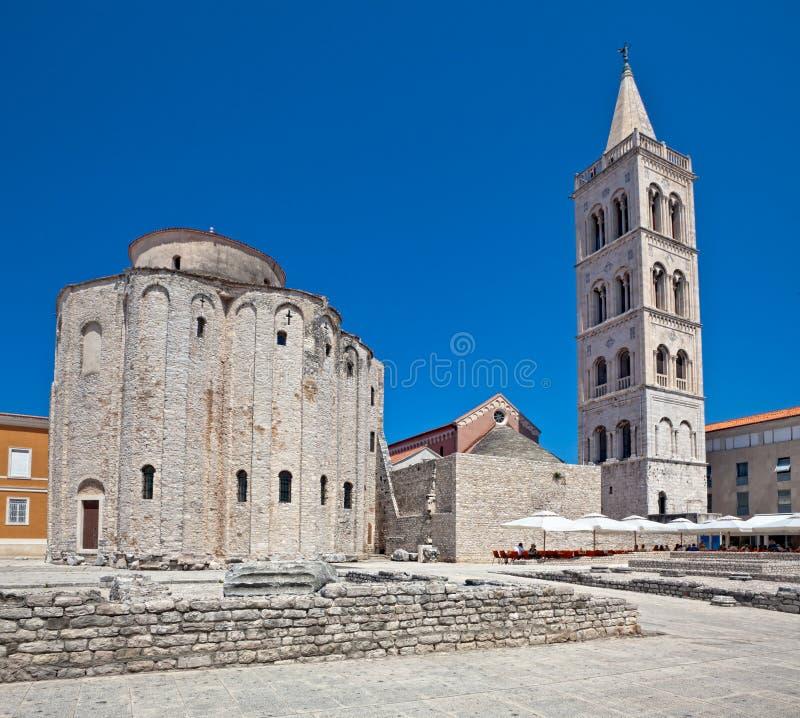 Zadar lizenzfreies stockfoto
