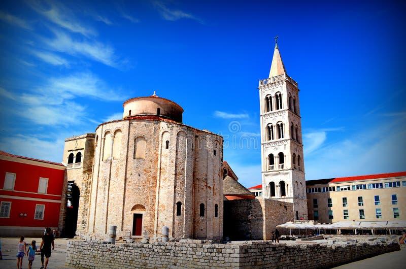 Zadar lizenzfreie stockfotografie
