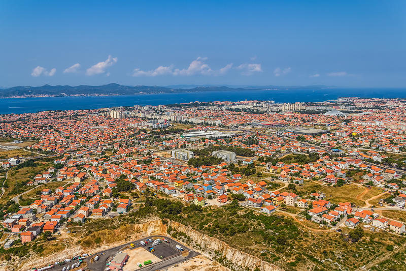 Zadar obrazy stock